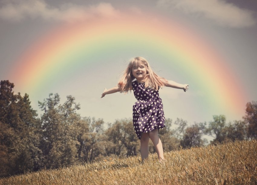 Learn from a Rainbow Child